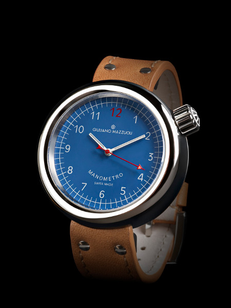 Manometro Blue Dial