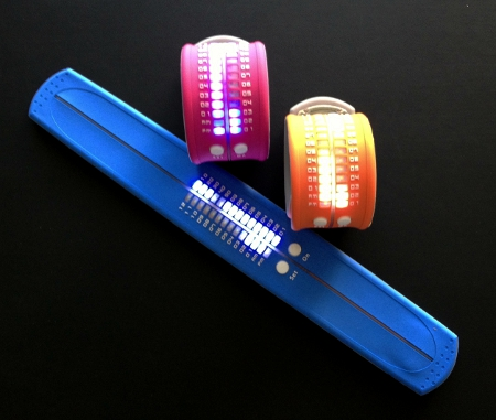SMACK Silicon LED watch